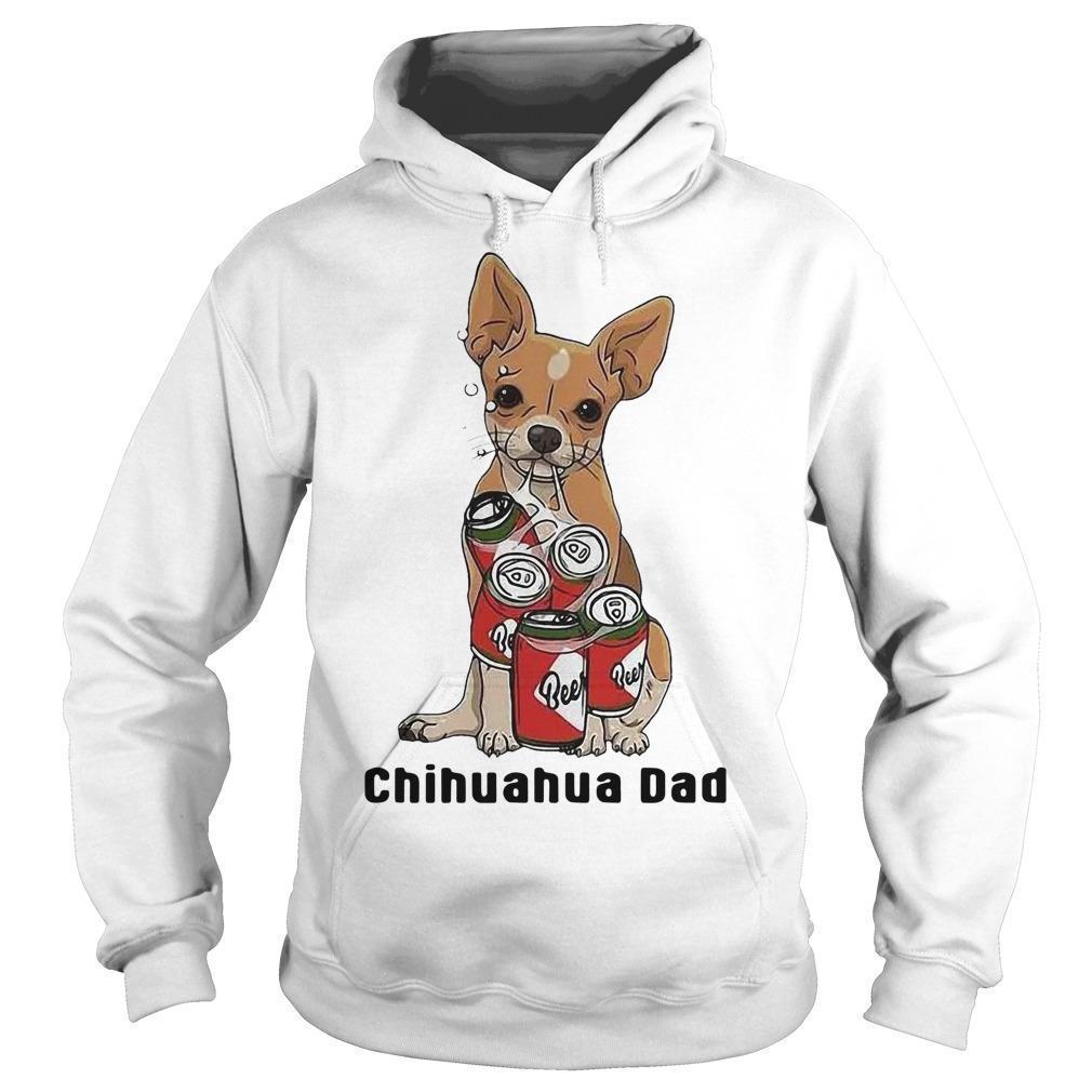Beers Lover Chihuahua Dad Hoodie