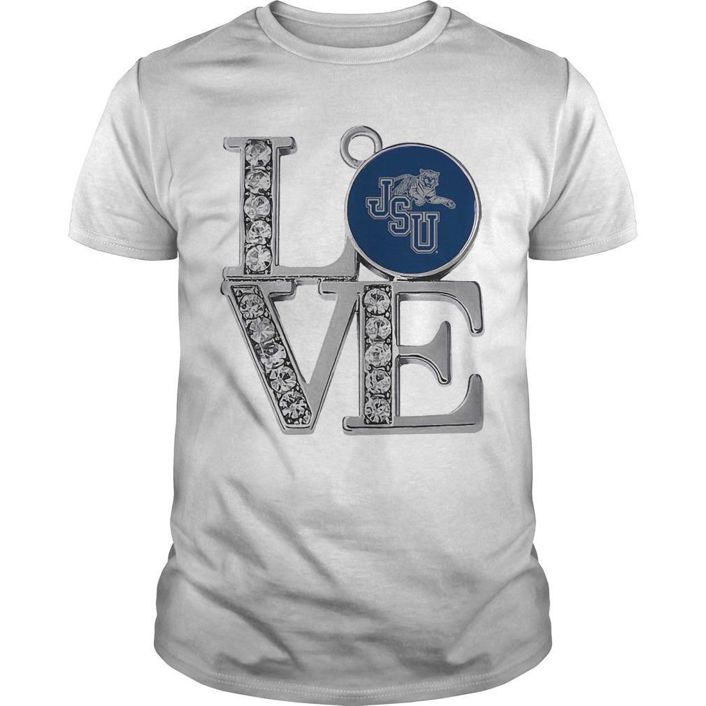 Diamond Jsu Tigers Love Shirt