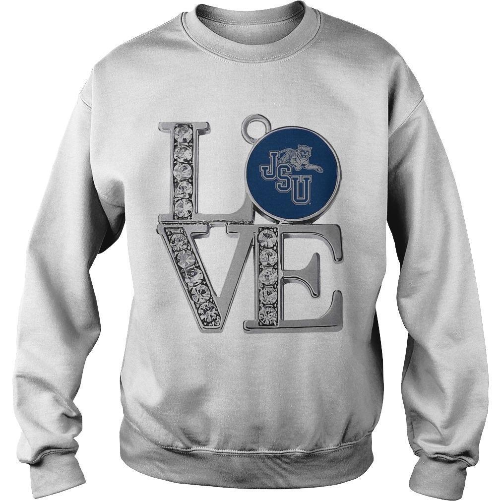 Diamond Jsu Tigers Love Sweater