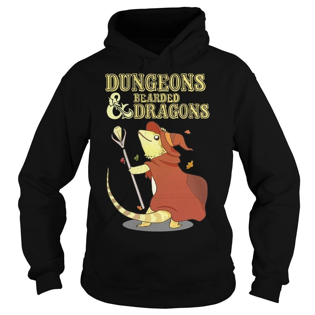 Dungeons And Bearded Dragons Hoodie