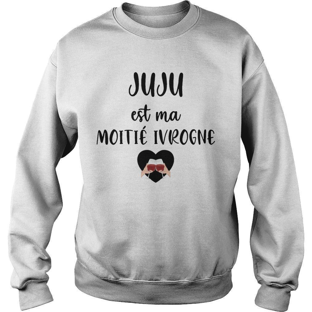 Juju Est Ma Moitié Ivrogne Sweater