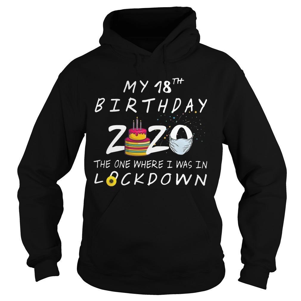 My 18th Birthday 2020 The One Where I Was In Lockdown Hoodie