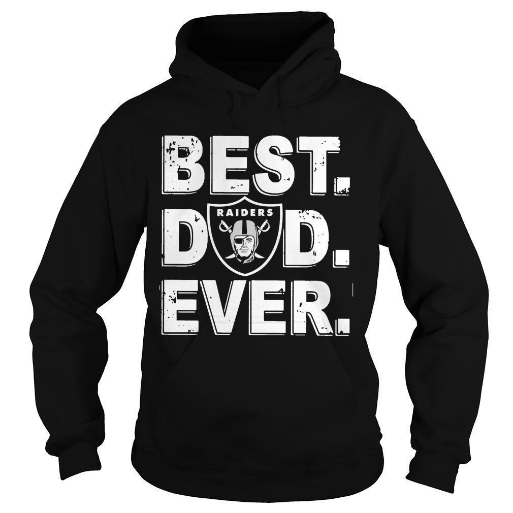 Oakland Raiders Best Dad Ever Hoodie
