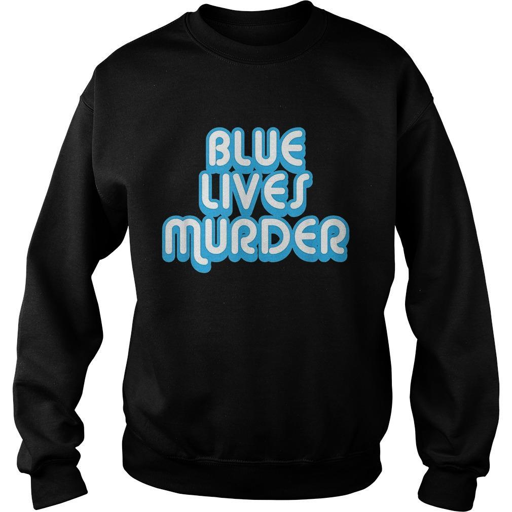 Blue Lives Murder Sweater