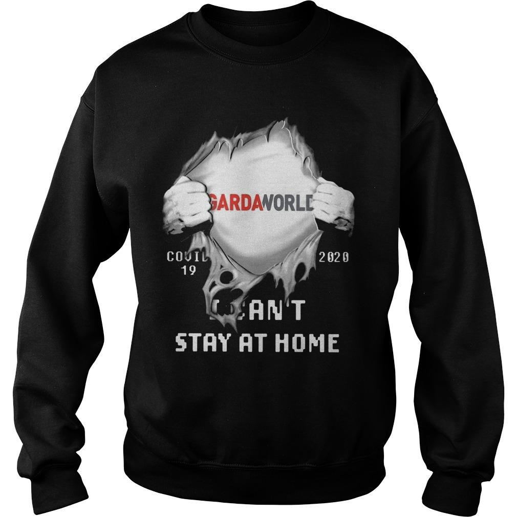 Gardaworld Covid 19 2020 I Can't Stay At Home Sweater