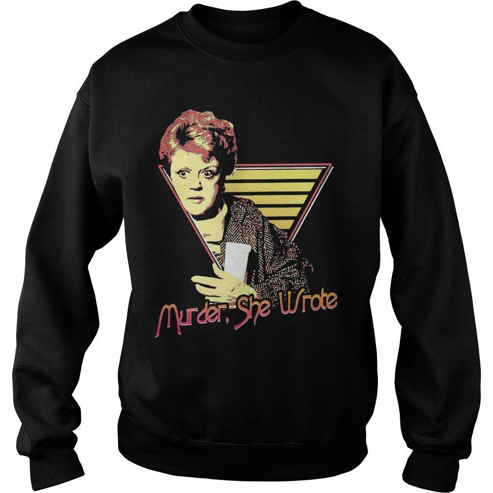 Murder She Wrote Sweater