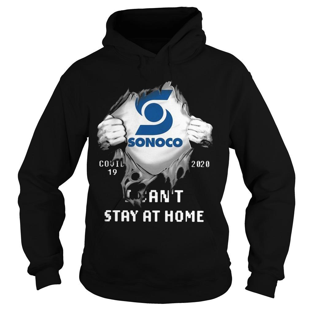 Sonoco Covid 19 2020 I Can't Stay At Home Hoodie