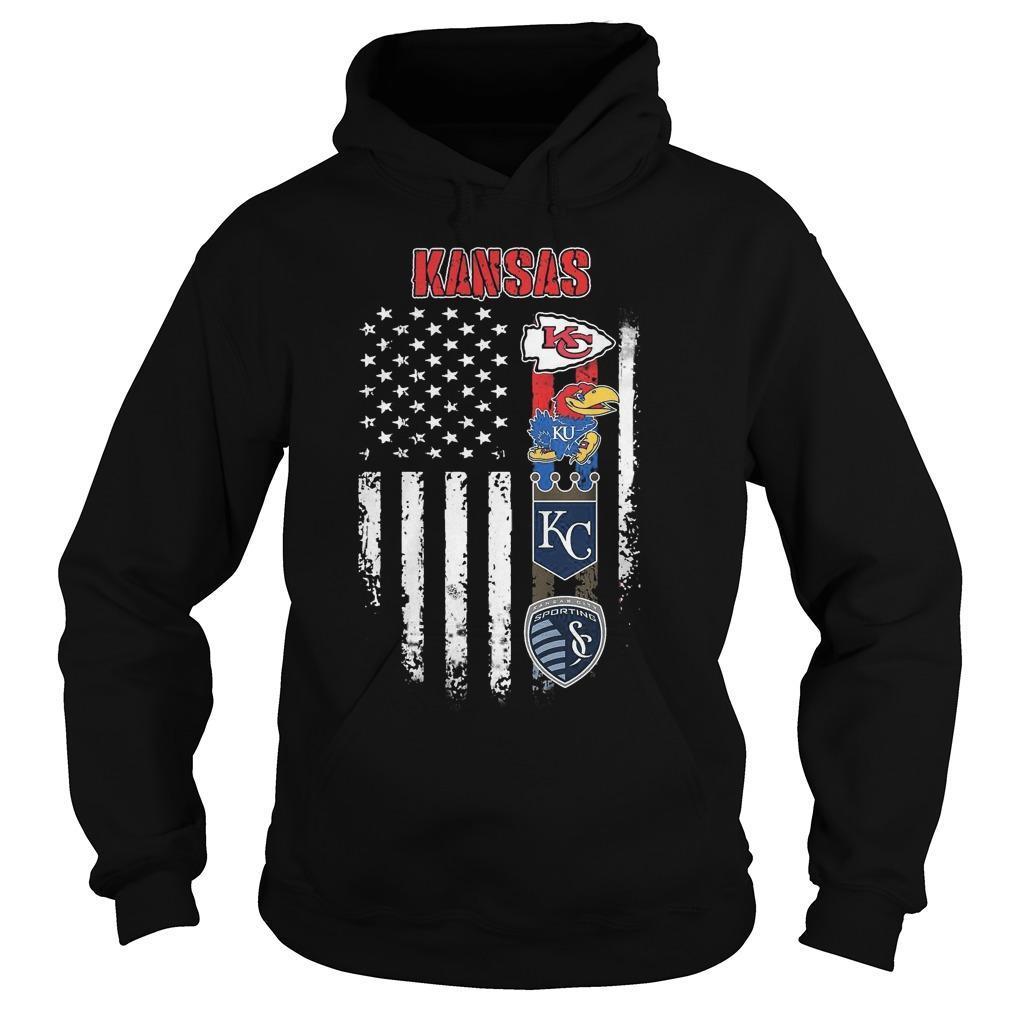 American Flag Kansas City Club Hoodie