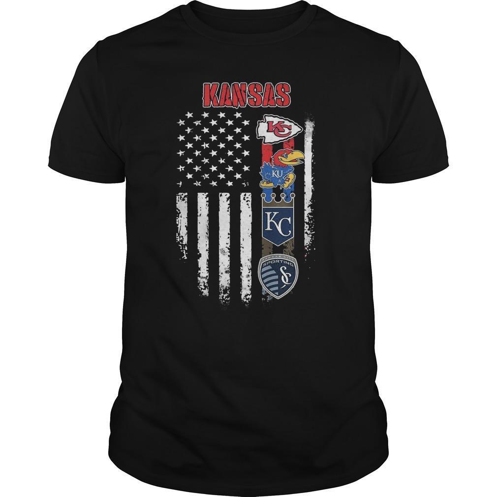 American Flag Kansas City Club Shirt