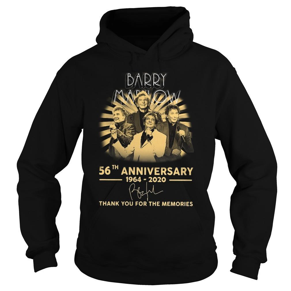 Barry Marlow 56th Anniversary Thank You For The Memories Hoodie
