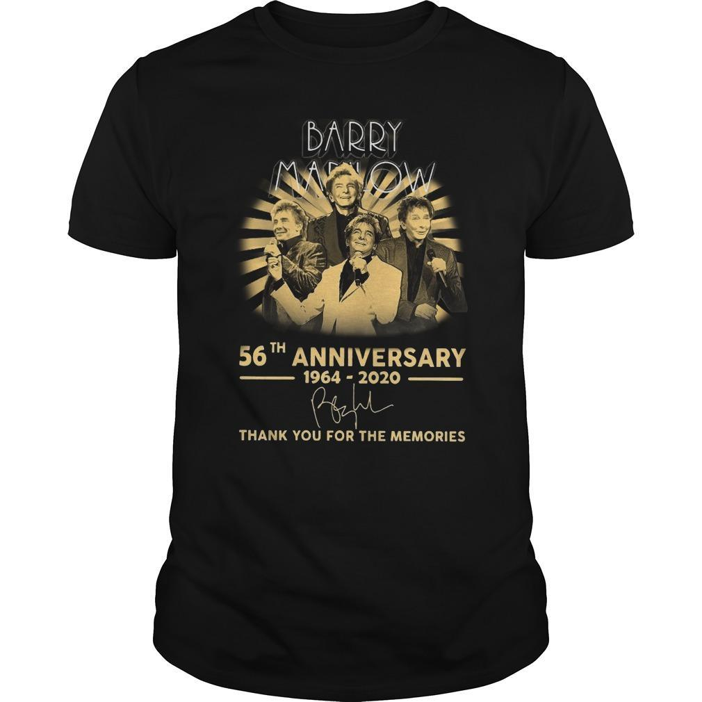 Barry Marlow 56th Anniversary Thank You For The Memories Shirt
