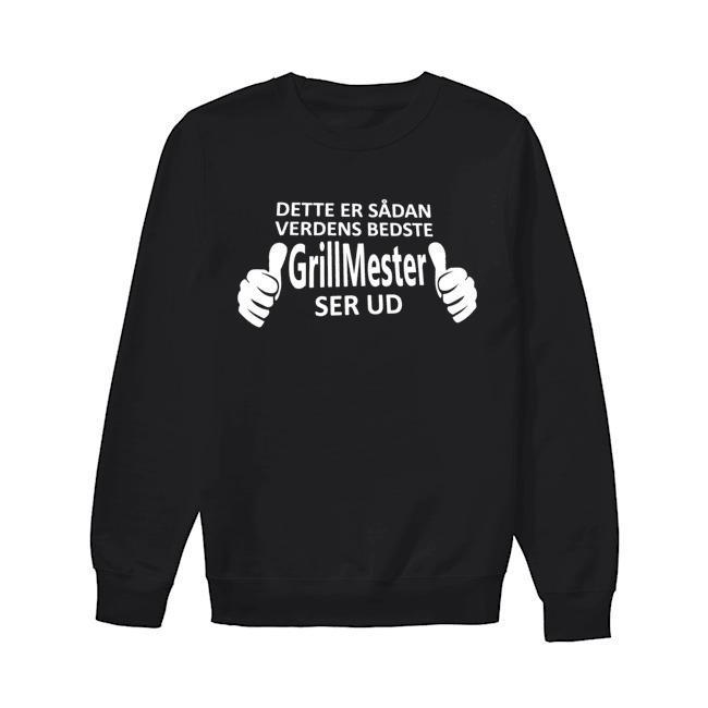Dette Er Sådan Verdens Bedste GrillMester Ser Ud Sweater