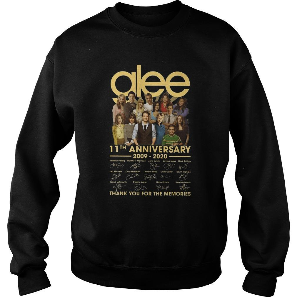 Glee 11th Anniversary Thank You For The Memories Sweater