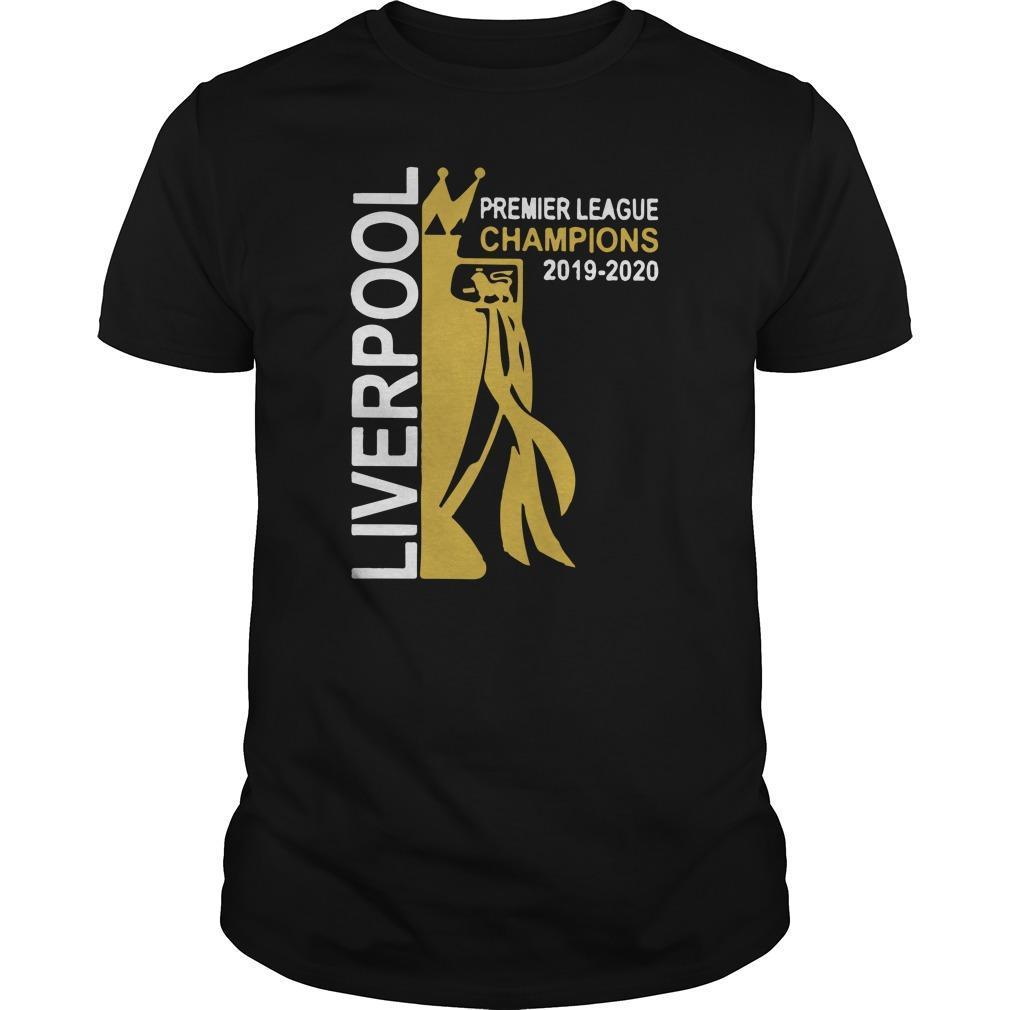 Liverpool Premier League Champions 2019 2020 Shirt
