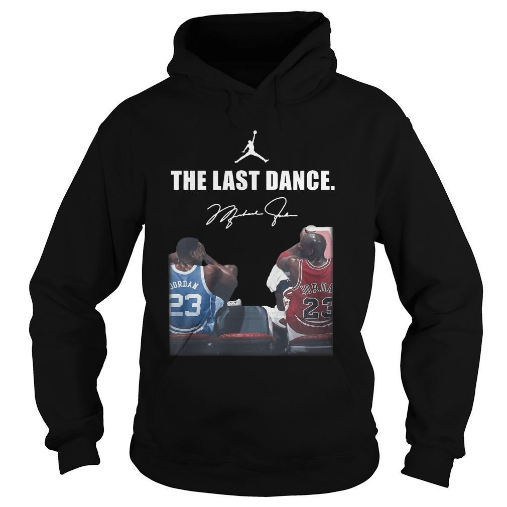 Michael Jordan Signature The Last Dance Hoodie