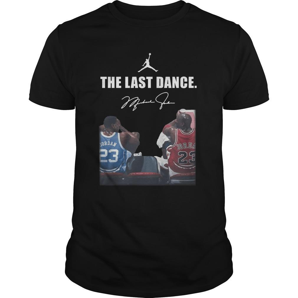 Michael Jordan Signature The Last Dance Shirt
