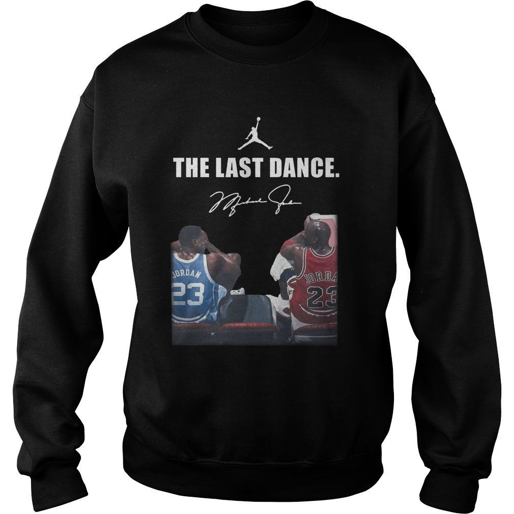 Michael Jordan Signature The Last Dance Sweater