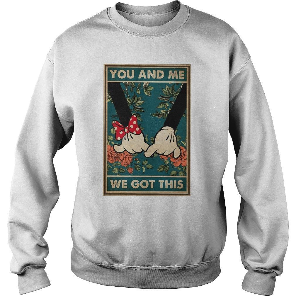 Minnie And Mickey You And Me We Got This Sweater