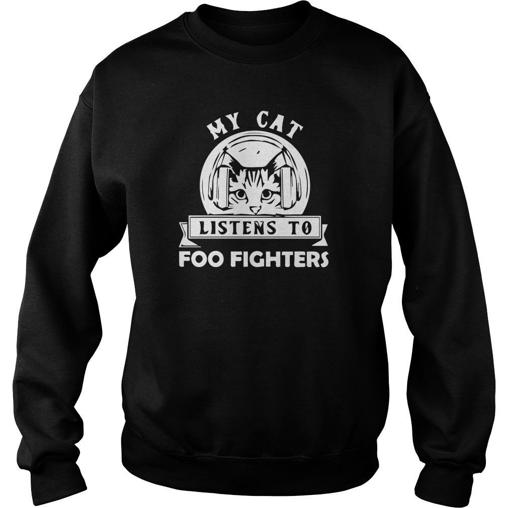 My Cat Listens To Foo Fighters Sweater