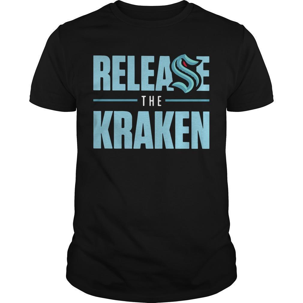 Release The Kraken T Shirt