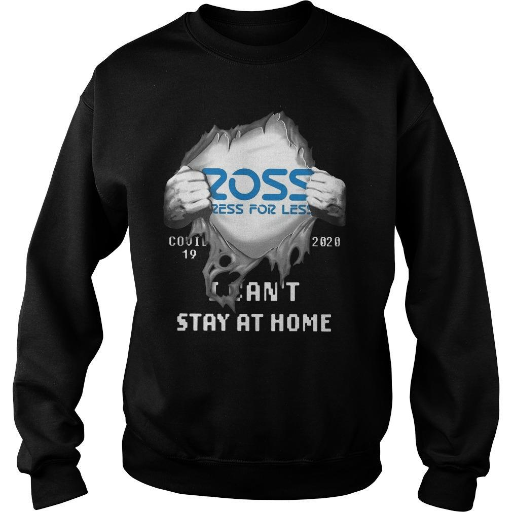 Ross Dress For Less Covid 19 2020 I Can't Stay At Home Sweater