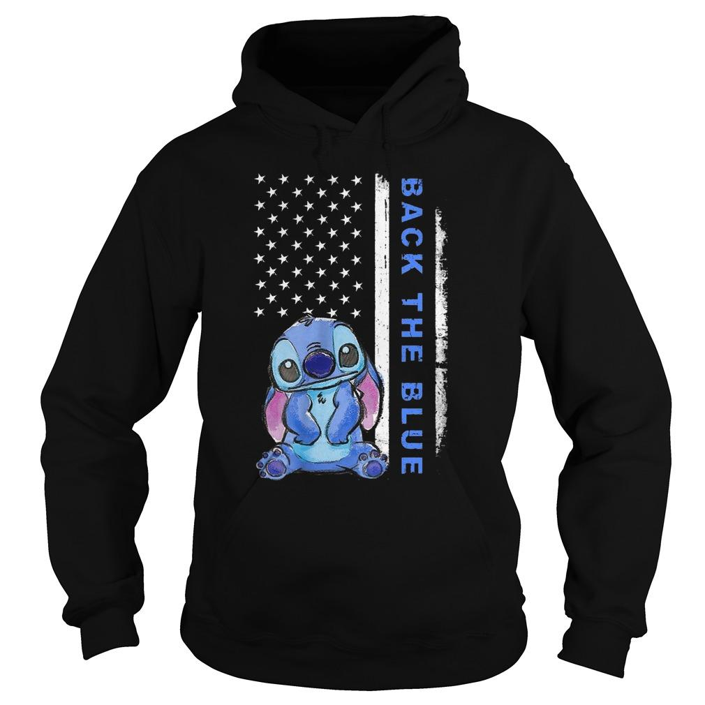 Stitch Back The Blue Hoodie