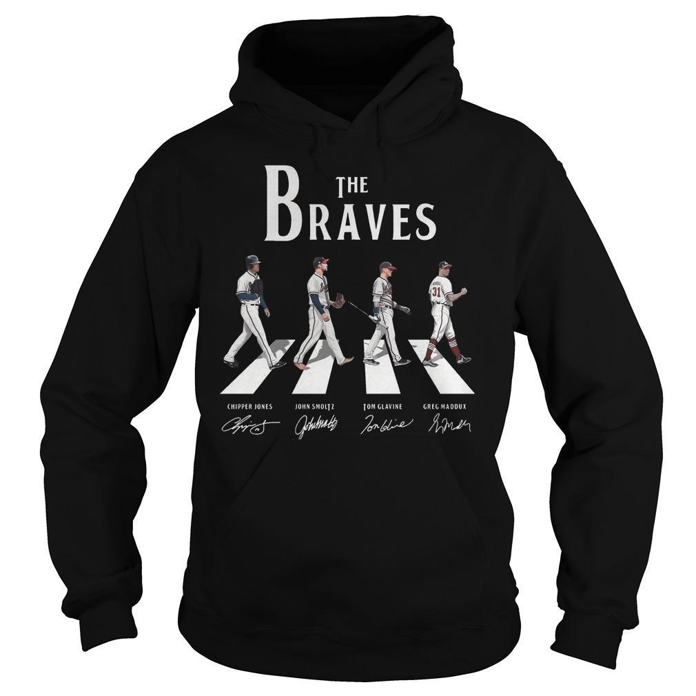 The Braves Walking Abbey Road Signature Hoodie