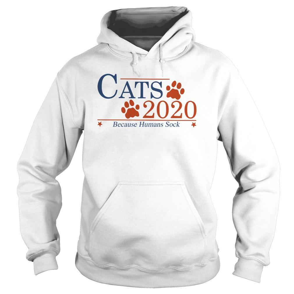 Cats 2020 Because Humans Suck Hoodie
