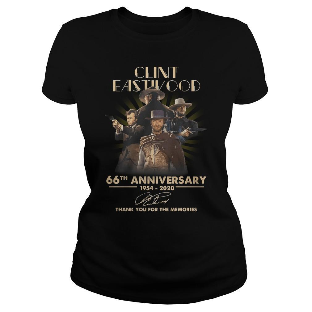 Clint Eastwood 66th Anniversary Thank You For The Memories Sweater