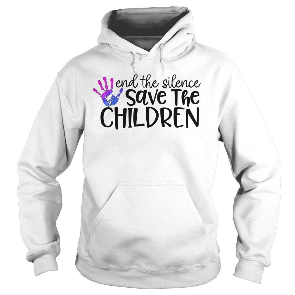 End The Silence Save The Children Hoodie