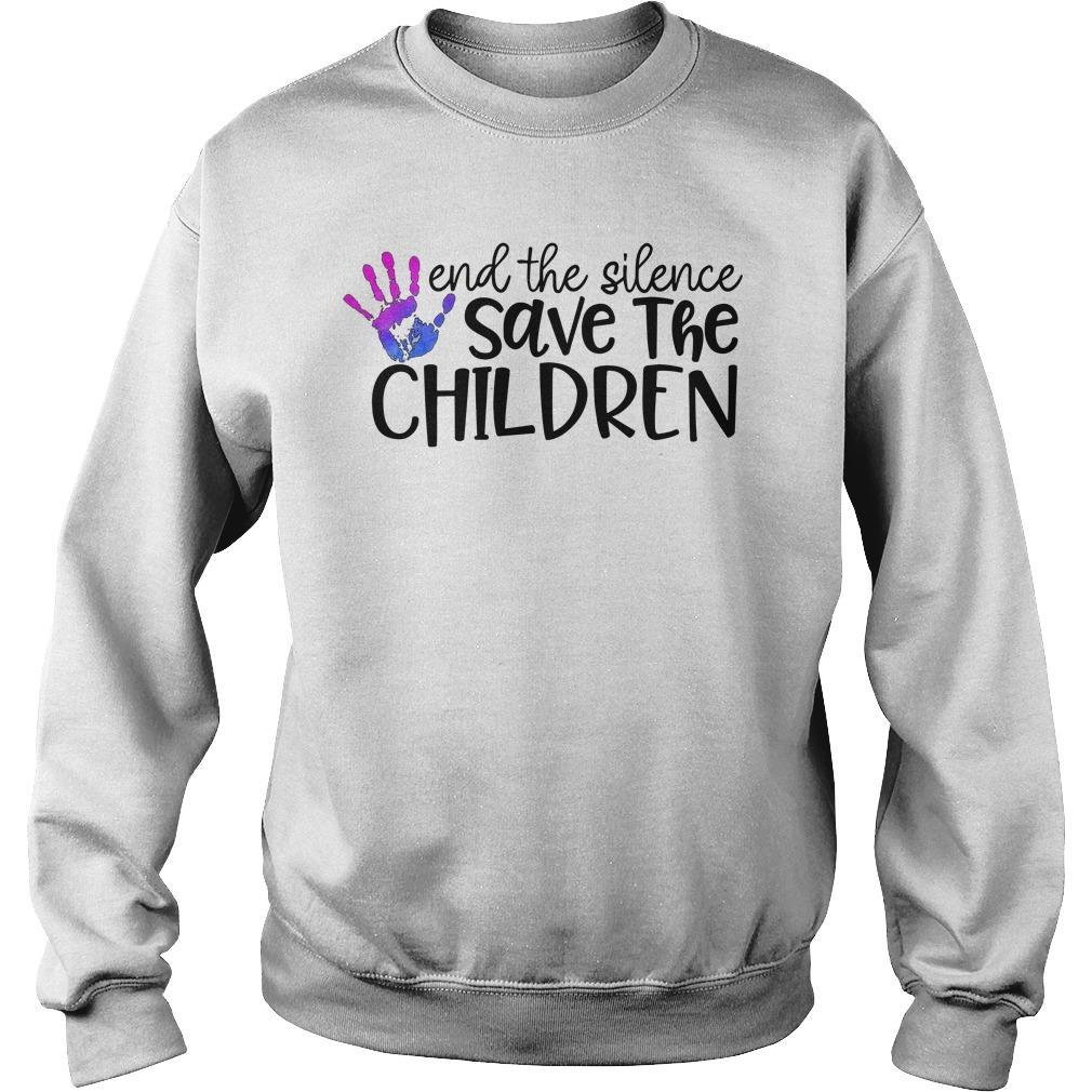 End The Silence Save The Children Sweater