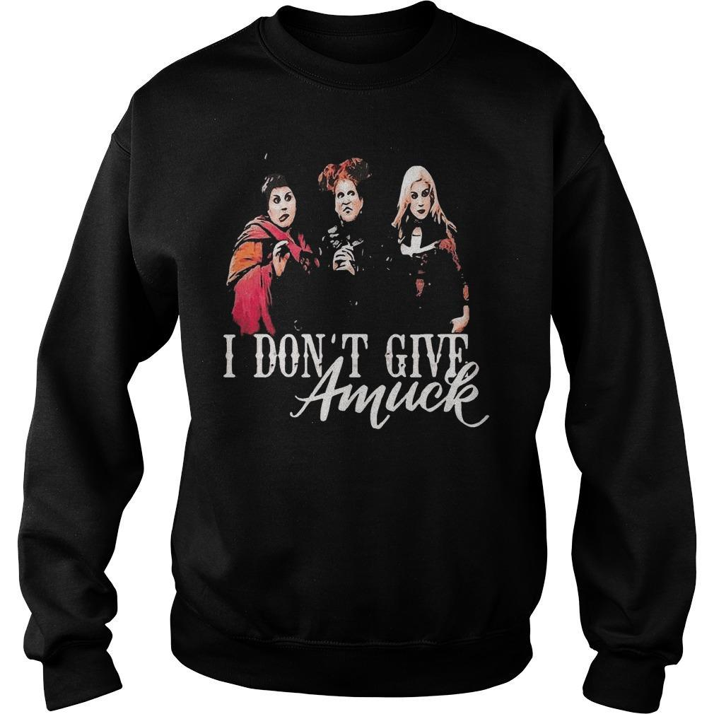 I Don't Give Amuck Hocus Pocus Sweater
