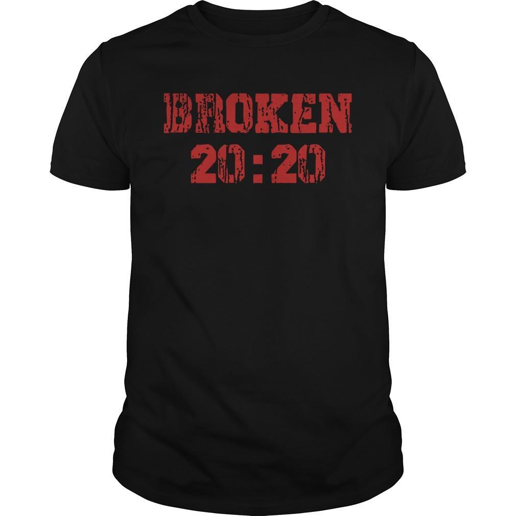 Matthew Hardy Broken 20 20 Shirt