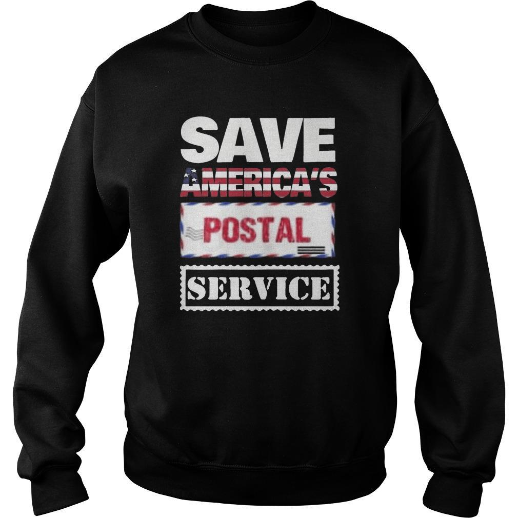 Save The Post Office T Sweater