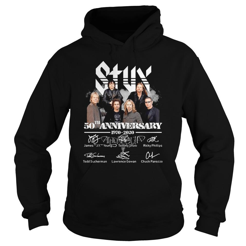 Styx 50th Anniversary James Young Tommy Shaw Ricky Phillips Hoodie
