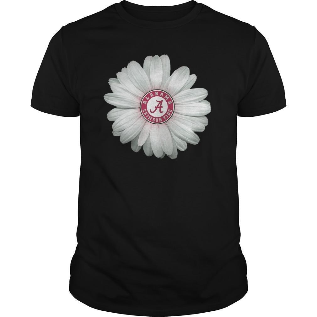 Daisy Flower Alabama Crimson Tide Shirt