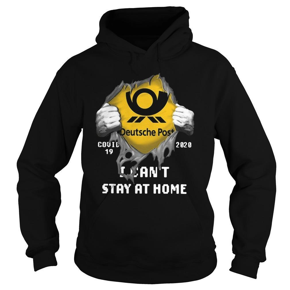 Deutsche Post Covid 19 2020 I Can't Stay At Home Hoodie