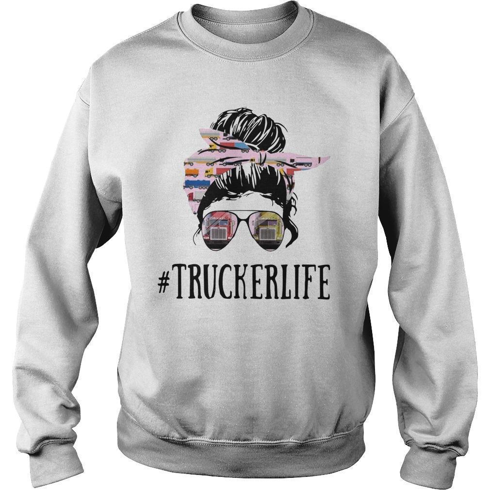 Glassing Girl #truckerlife Sweater