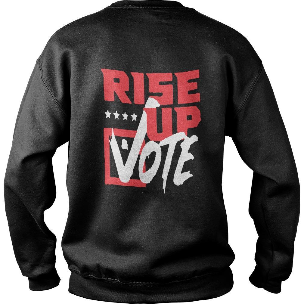 Rise Up And Vote The Vote Is The Most Powerful Sweater