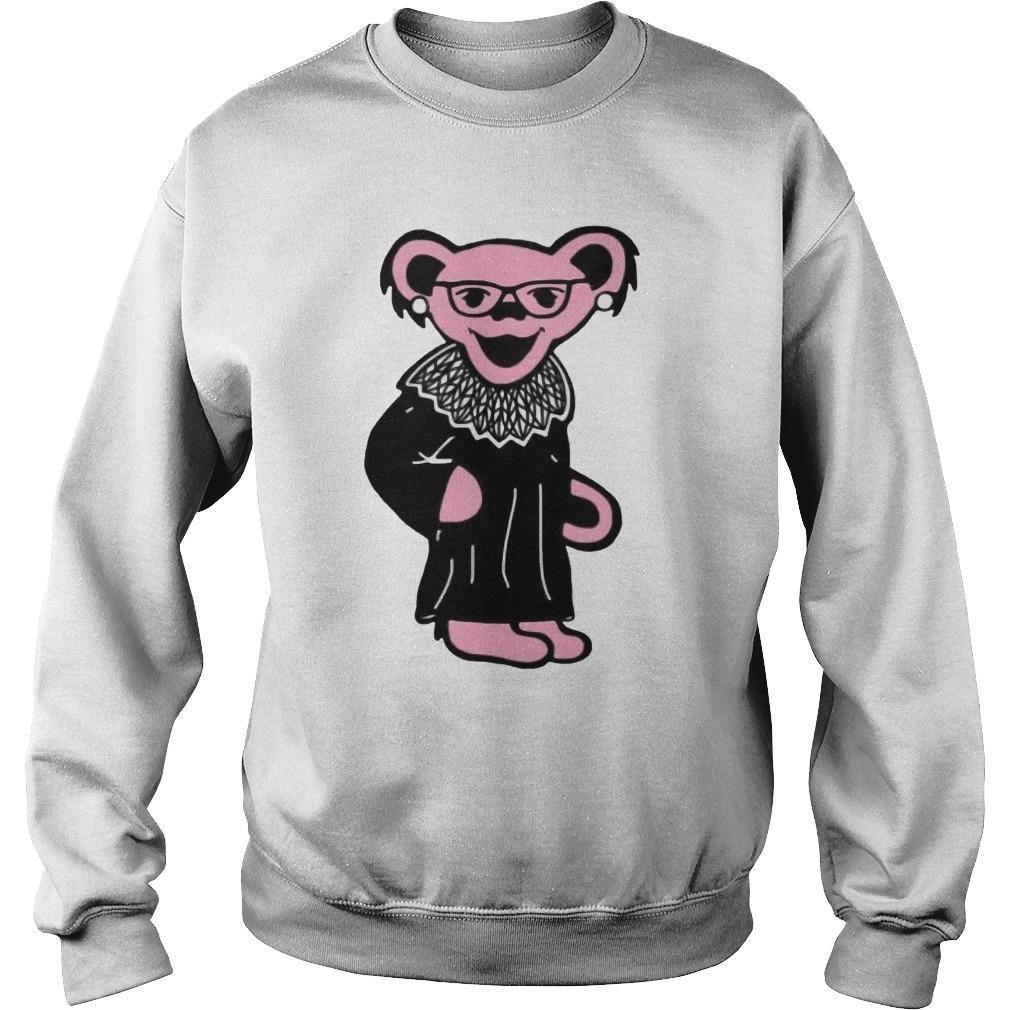 Ruth Bader Ginsburg Bear Sweater