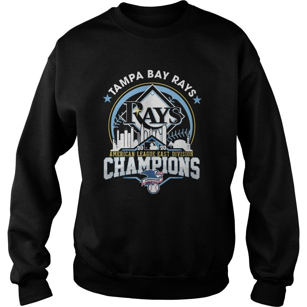 Tampa Bay Rays American League East Division Champions Sweater