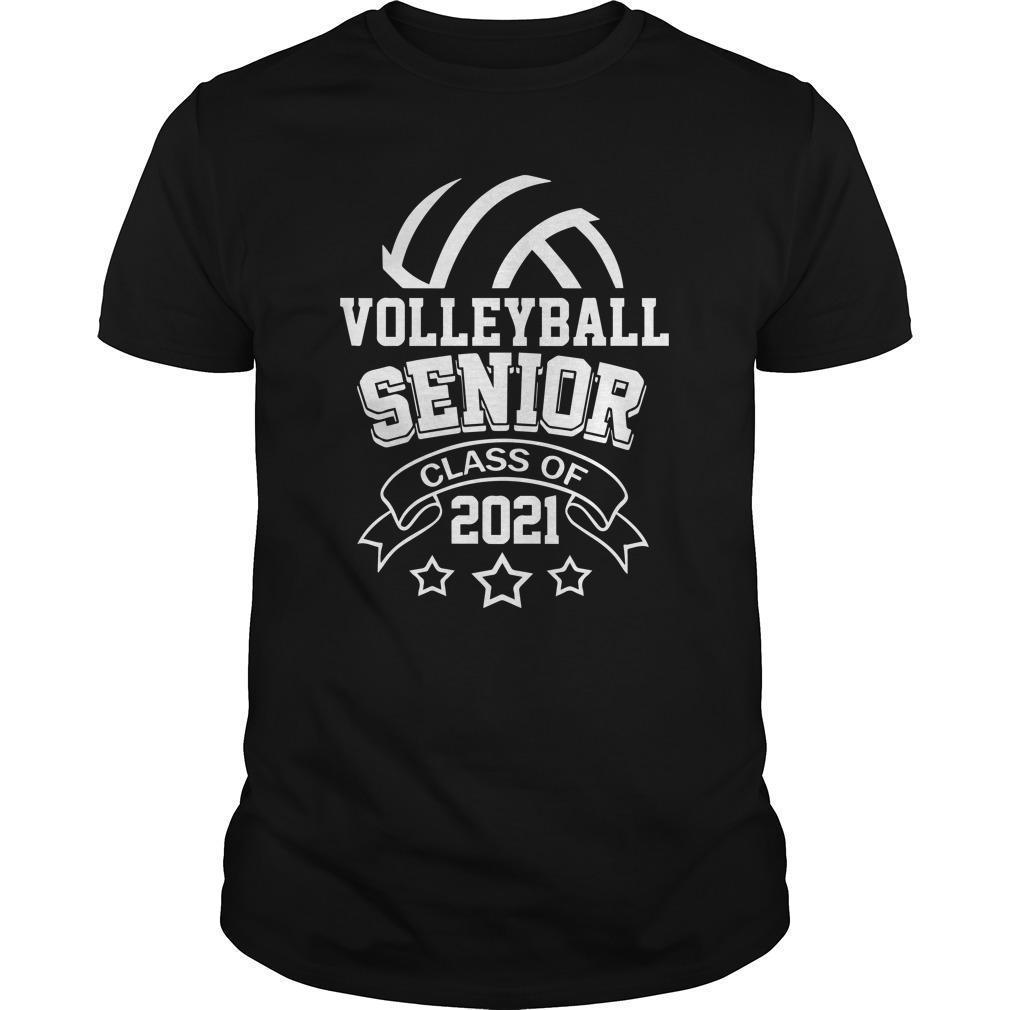 Volleyball Senior Class Of 2021 Shirt