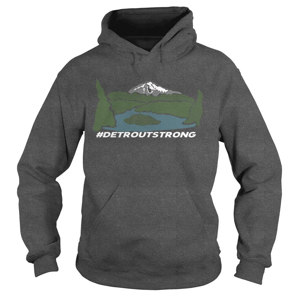 Wildfire Detroit Strong T Hoodie