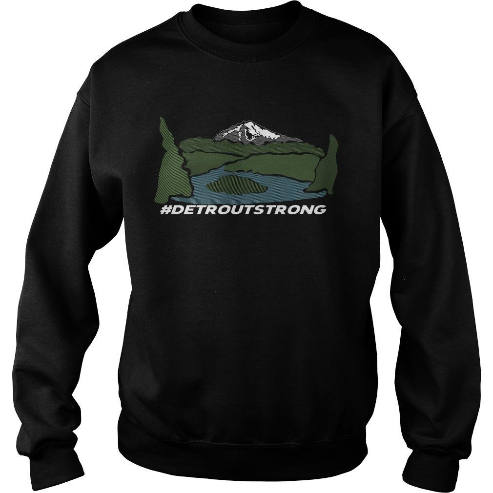 Wildfire Detroit Strong T Sweater