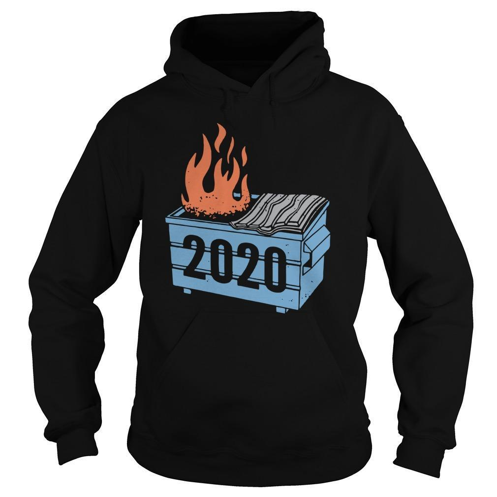 2020 Trash Fire Hoodie