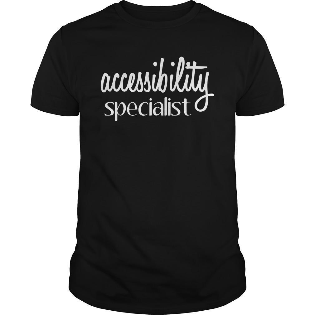 Accessibility Specialist Shirt