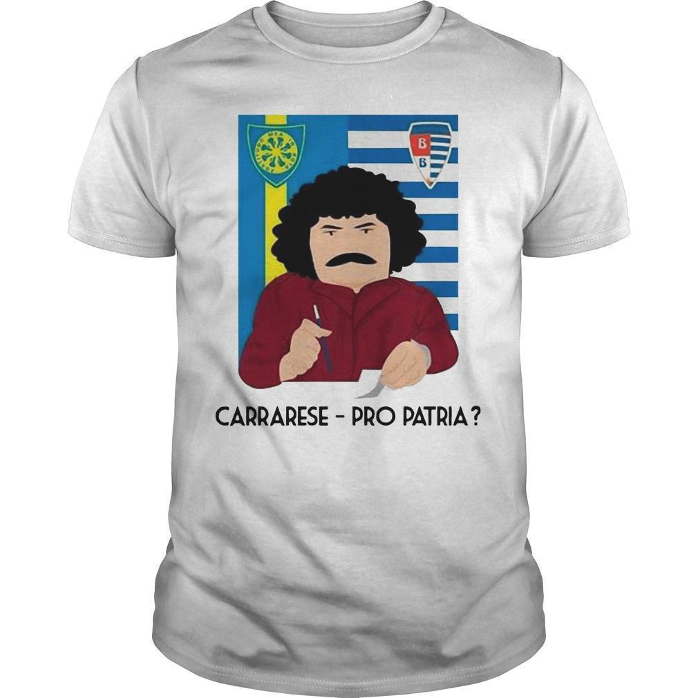 Carrarese Pro Patria Shirt