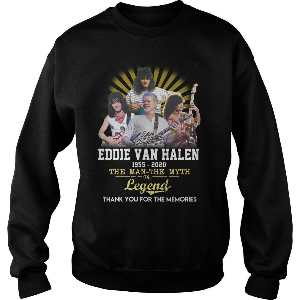 Eddie Van Halen The Man The Myth The Legend Sweater