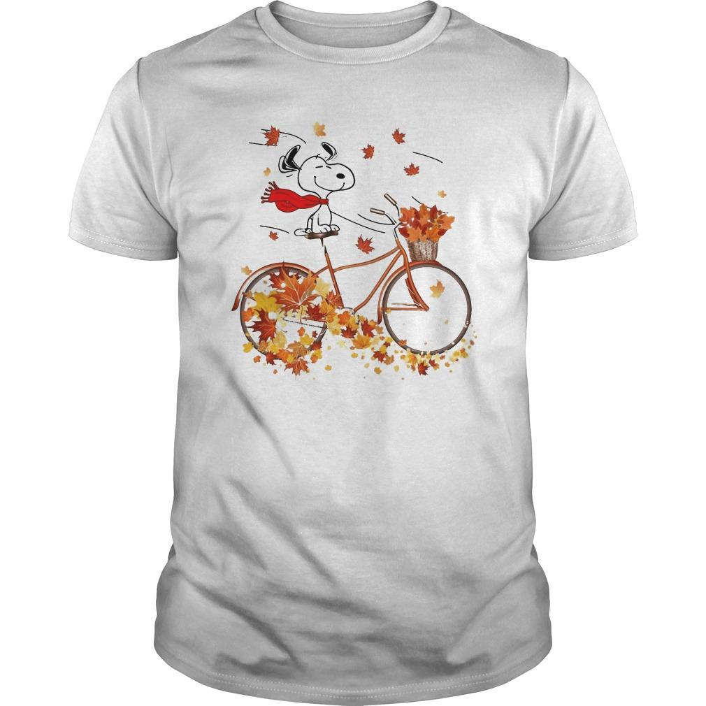 Fall The Peanuts Snoopy Shirt