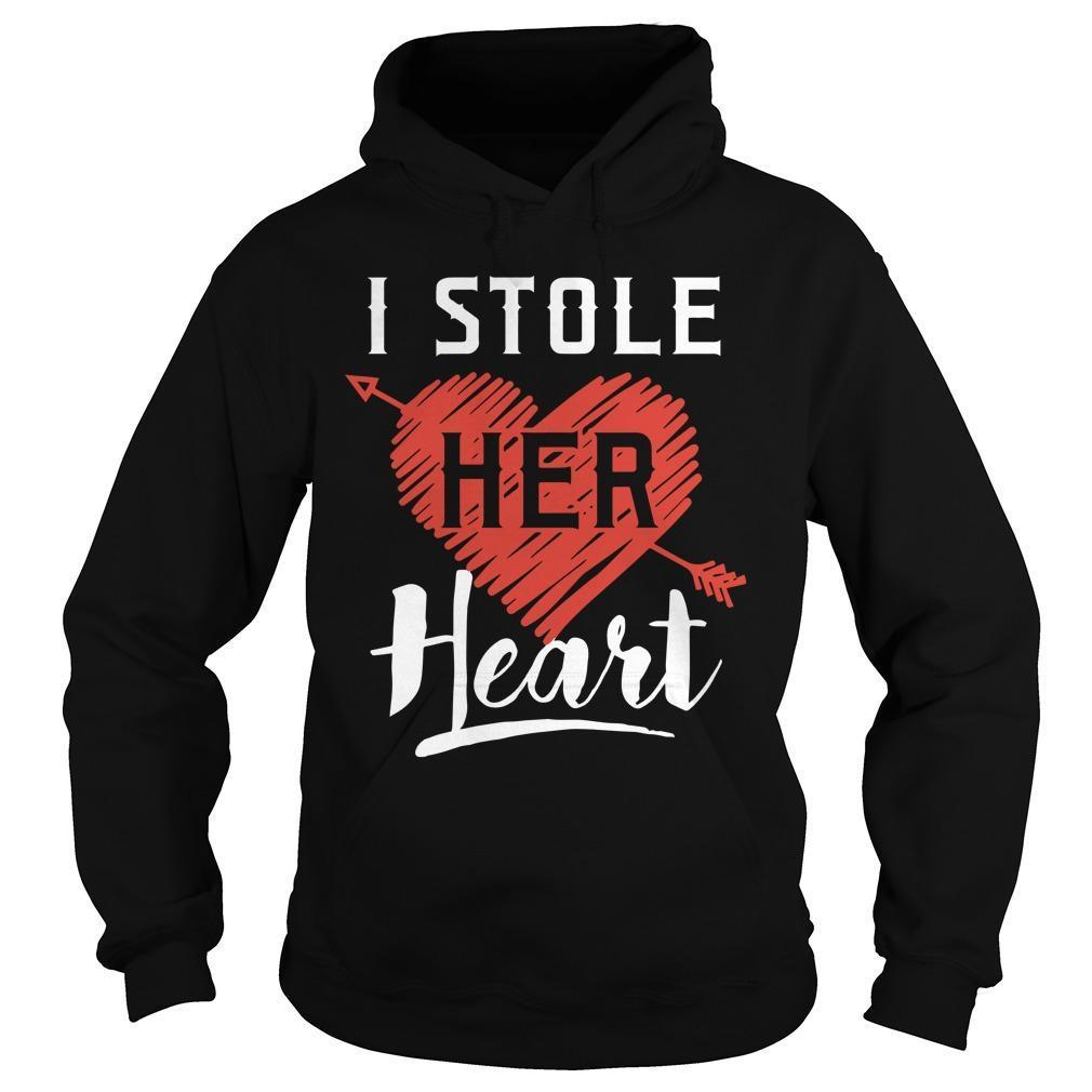 I Stole Her Heart Hoodie